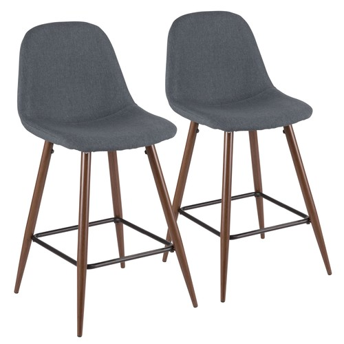 Pebble Counter Stool - Set Of 2