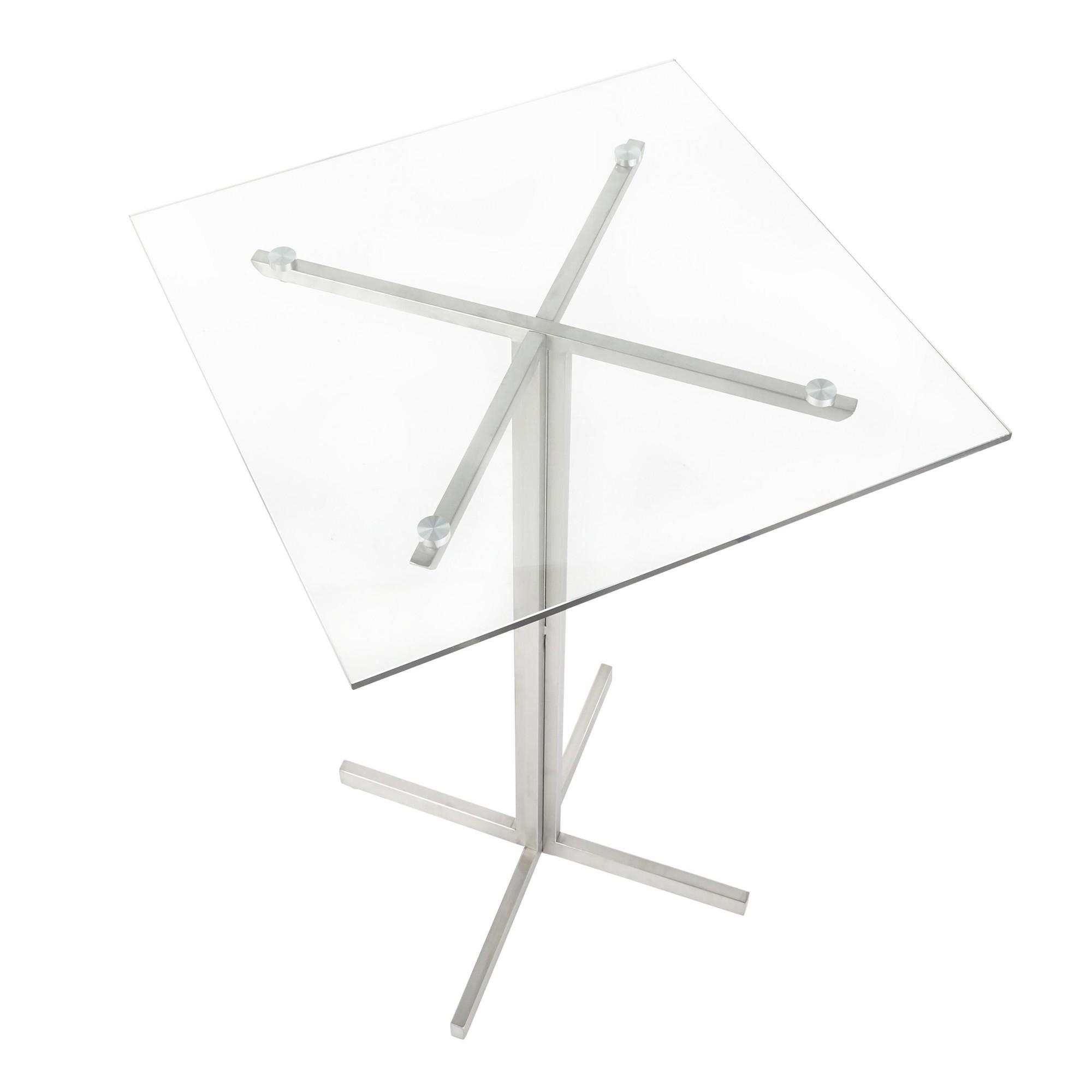 Fuji Square Bar Table Lumisource Stylish Decor At